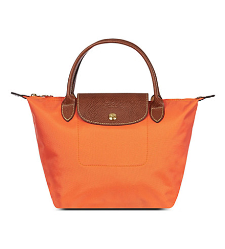 LONGCHAMP Le Pliage small handbag (Orange