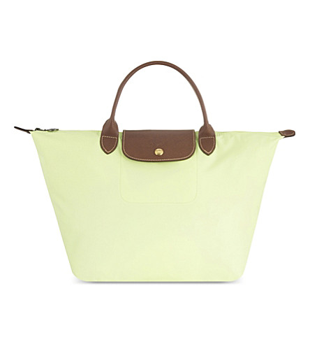 LONGCHAMP Le Pliage medium shopper (Anise