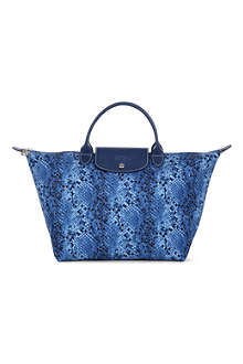 LONGCHAMP Le Pliage Python medium handbag