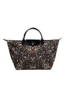 LONGCHAMP Le Pliage Fauve medium handbag
