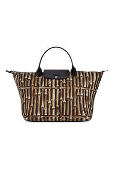 LONGCHAMP Le Pliage Bambou medium handbag