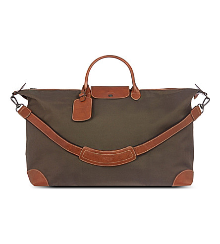 LONGCHAMP Boxford travel bag (Brown