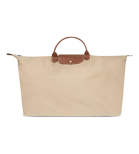 LONGCHAMP Le Pliage extra large travel bag (Beige