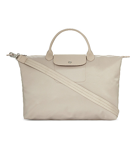 LONGCHAMP Le Pliage Néo large tote (Chalk
