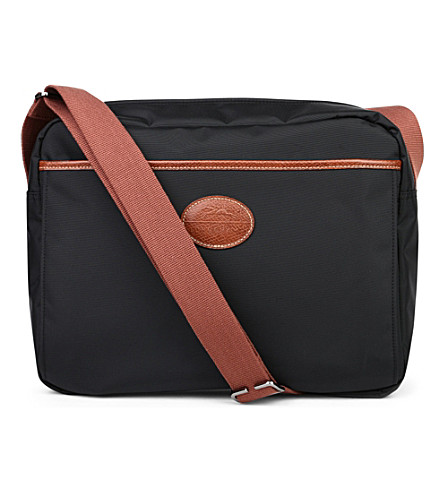 LONGCHAMP Le Pliage shoulder bag in black (Black