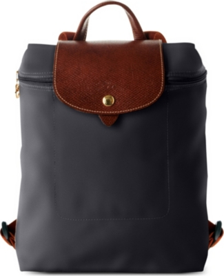 Longchamp Black Backpack