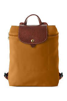 LONGCHAMP Le Pliage backpack in camel