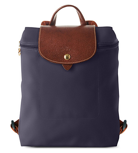 LONGCHAMP Le Pliage backpack (Bilberry