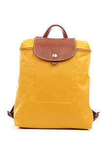 LONGCHAMP Le Pliage backpack in sunshine