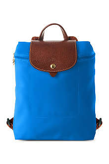 LONGCHAMP Le Pliage backpack in ultra marine