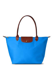 LONGCHAMP Le Pliage large shopper in ultra marine