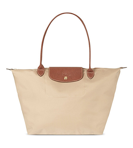LONGCHAMP Le Pliage large shopper (Beige