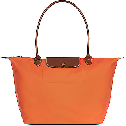LONGCHAMP Le Pliage large shopper (Orange