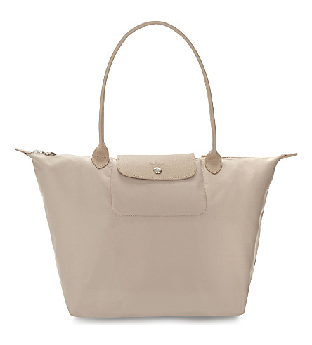 LONGCHAMP Le Pliage Néo medium tote (Chalk