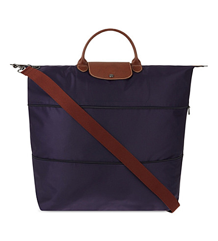 LONGCHAMP Le Pliage travel bag (Bilberry/my