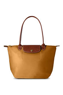 LONGCHAMP Le Pliage small shopper in camel