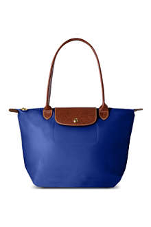 LONGCHAMP Le Pliage small shopper in indigo