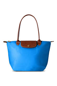 LONGCHAMP Le Pliage small shopper in ultra marine