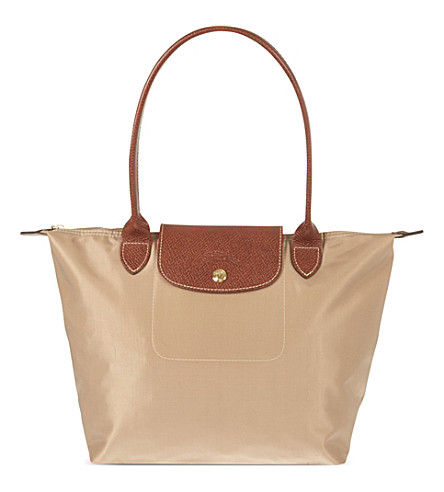 LONGCHAMP Le Pliage small shopper (Beige