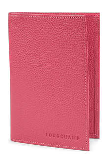 LONGCHAMP Foulonne passport cover