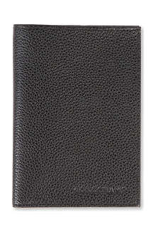 LONGCHAMP Veau Foulonne passport cover