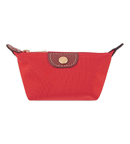 LONGCHAMP Le pliage coin purse (Red+gar