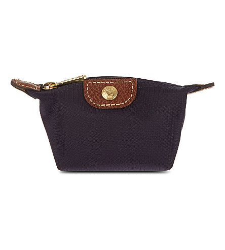 LONGCHAMP Le Pliage coin purse (Bilberry