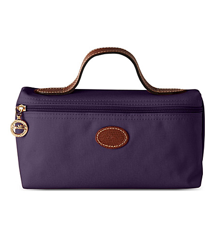 LONGCHAMP Le Pliage make-up bag (Bilberry