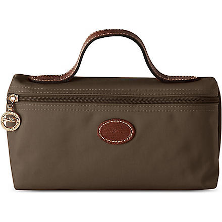 LONGCHAMP Le Pliage make-up bag (Taupe