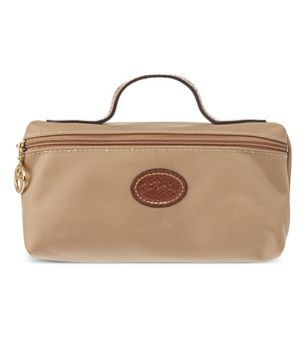 LONGCHAMP Le Pliage make-up bag (Beige