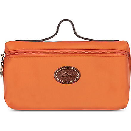 LONGCHAMP Le Pliage make-up bag (Orange