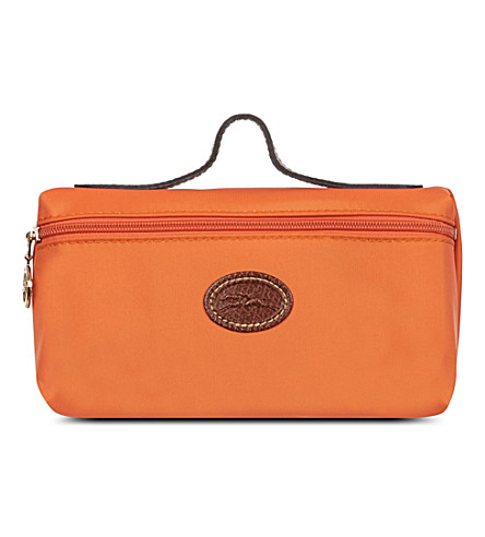 LONGCHAMP Le Pliage make-up bag (Orange
