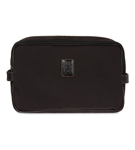 LONGCHAMP Boxford toiletry case (Black