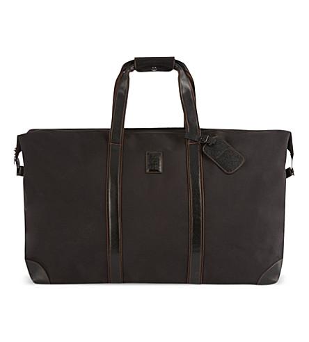 LONGCHAMP Boxford 旅行袋 (黑色