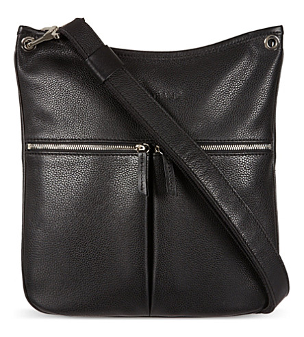 LONGCHAMP Le Foulonne cross-body bag (Noir