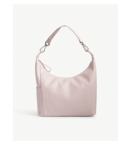 LONGCHAMP Foulonné hobo leather bag (Powder