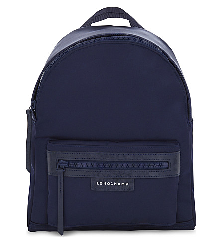 LONGCHAMP Le Pliage small neoprene backpack (Navy