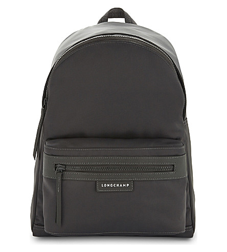 LONGCHAMP Le Pliage medium neoprene backpack (Grey