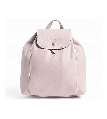 LONGCHAMP Le Pliage Cuir extra-small leather backpack (Girl