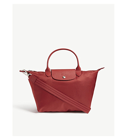 LONGCHAMP Le Pliage Neo nylon shopper (Red