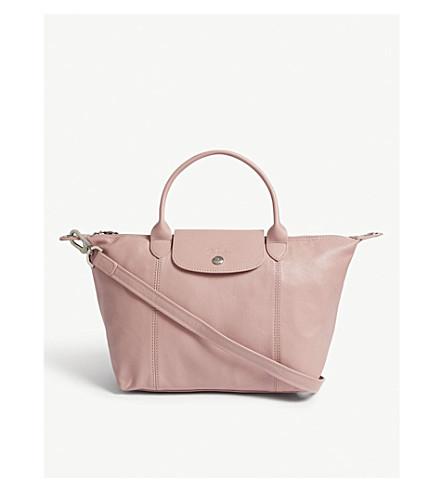 LONGCHAMP Le Pliage Cuir Metis leather shoulder bag (Blush
