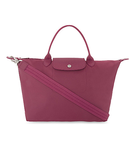 LONGCHAMP Le Pliage Néo shoulder bag (Raspberry