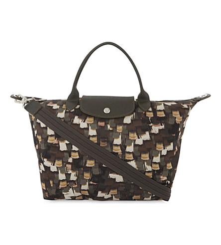 LONGCHAMP Le Pliage Néo shoulder bag (Khaki