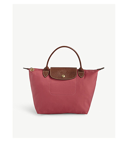 LONGCHAMP Le Pliage small tote bag (Flowers