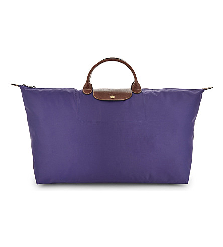 LONGCHAMP Le Pliage extra large nylon canvas tote (Amethyst