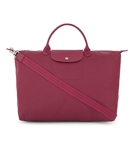 LONGCHAMP Le Pliage Neo nylon shopper (Raspberry