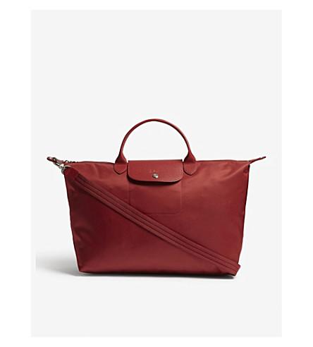 LONGCHAMP Le Pliage Neo nylon shopper (Red