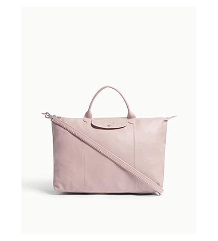 LONGCHAMP Le Pliage Cuir leather shoulder bag (Girl