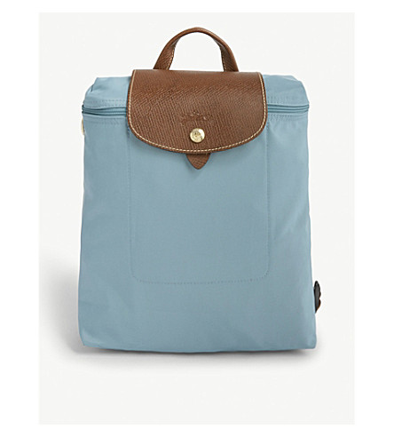 LONGCHAMP Le Pliage nylon canvas backpack (Artic