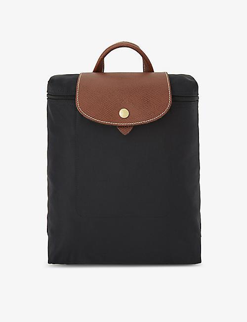 LONGCHAMP Le Pliage nylon canvas backpack e56e1712bc212